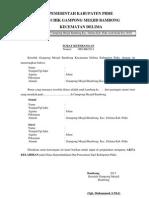 Contoh Surat Keterangan Pengajuan Akta Kelahiran i