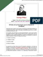 El Método de Cuatro Pasos de Pólya