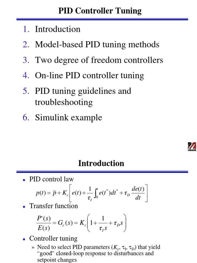 Pid Tuning | Control Theory | Cybernetics