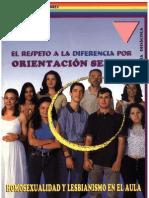 Guía didáctica-El respeto a la diferencia por orientación sexual