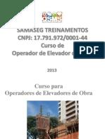 apresentação elevador 2011