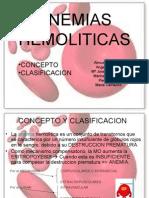 diapositivas ANEMIAS HEMOLITICAS