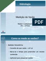 Medição de vazão