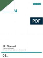 Manual de Usuario Electrocardiografo Edan SE12