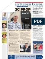 Brenda Levin Los Angeles Business Journal P:rofile/Interview 5.13.13