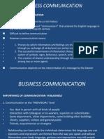 Ch i Business Communication i