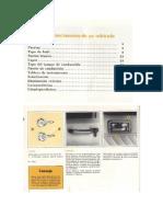 Manual de usuario de Renault 12 L - TL 80