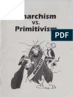 Anarchism vs Primitisvism
