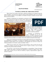 03/05/11 Germán Tenorio Vasconcelos realiza Sso Foro Para El Control Del Tabaco en El Estado