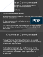 Oganizational Communication Channels-V