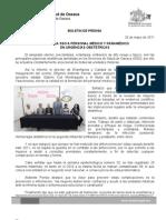 26/05/11 Germán Tenorio Vasconcelos ACTUALIZA SSO A PERSONAL MÉDICO Y PARAMÉDICO EN URGENCIAS OBSTÉTRICAS