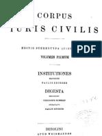 institutiones digesta