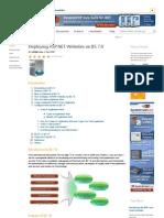 Deploying ASP.net Websites on IIS 7.0