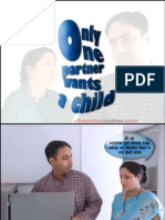 only one partner wants a child - iskcondesiretree