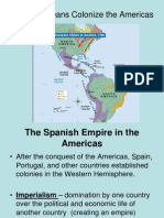 Europeans Colonize the Americas