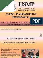El Entorno y Su Influencia en Las Organizaciones Empresariales