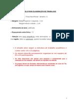 ATPS - Empreendedorismo - Modelo