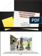 The Comprehensive Agrarian Reform Program (Carp)