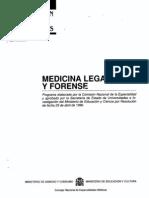 Medicina Legal y Forense-Consepto