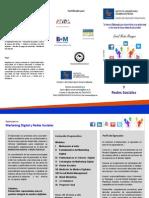 Triptico Diplomado Marketing Digital ISUM