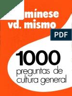 Ocon de Oro - 1000 Preguntas de Cultura General