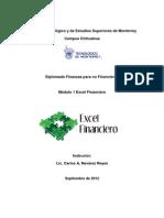 Excel Financiero Septiembre 2012