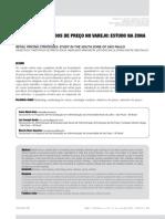 OBJETIVOS E MÉTODOS DE PREÇO NO VAREJO ESTUDO NA ZONA SUL DE SÃO PAULO