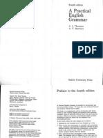 Grammar a Practical English Grammar Thomson Martinet 4th Ed