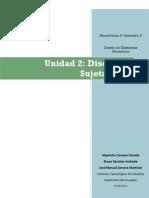 Unidad 2 Diseño de sujetadores