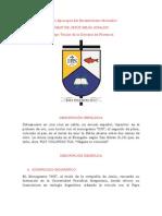 Descripción Escudo Episcopal del Excelentísimo Monseñor