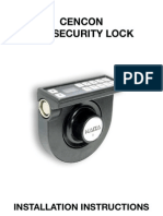 Cencon Atm Security Lock Installation Instructions