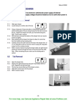 Fisher-Paykel DD603 Drawer Removal