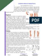 Lesiones musculoesqueleticas