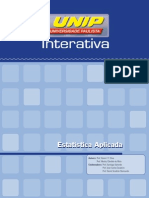 Estatistica Aplicada (30h) Unidade I