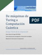 Ensayo Maquina Turing Computacion CuANTICA