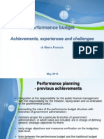 Performance Management in the Public Sector--Country Case Studies and Recent Innovations