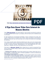 8 Tips para hacer video para internet de manera efectiva.pdf