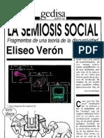 Eliseo Verón- La Semiosis Social (Fragmentos)