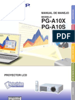 Manual Proyector Sharp