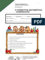 Evaluacion Formativa de Matematica Unidad 1 Cuarto 2013