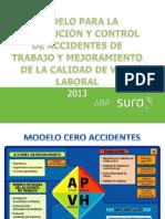 1.Presentación modelo cero accidentes 2013