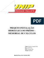 CÁLCULO - ODA