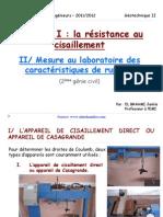 Ch 1 Resistance Au Cisaillement