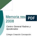 Exposición CGPA cierre 2008