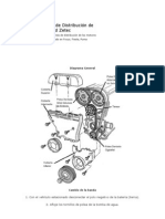 Cambio de la Banda de Distribución de Motor Ford Zetec