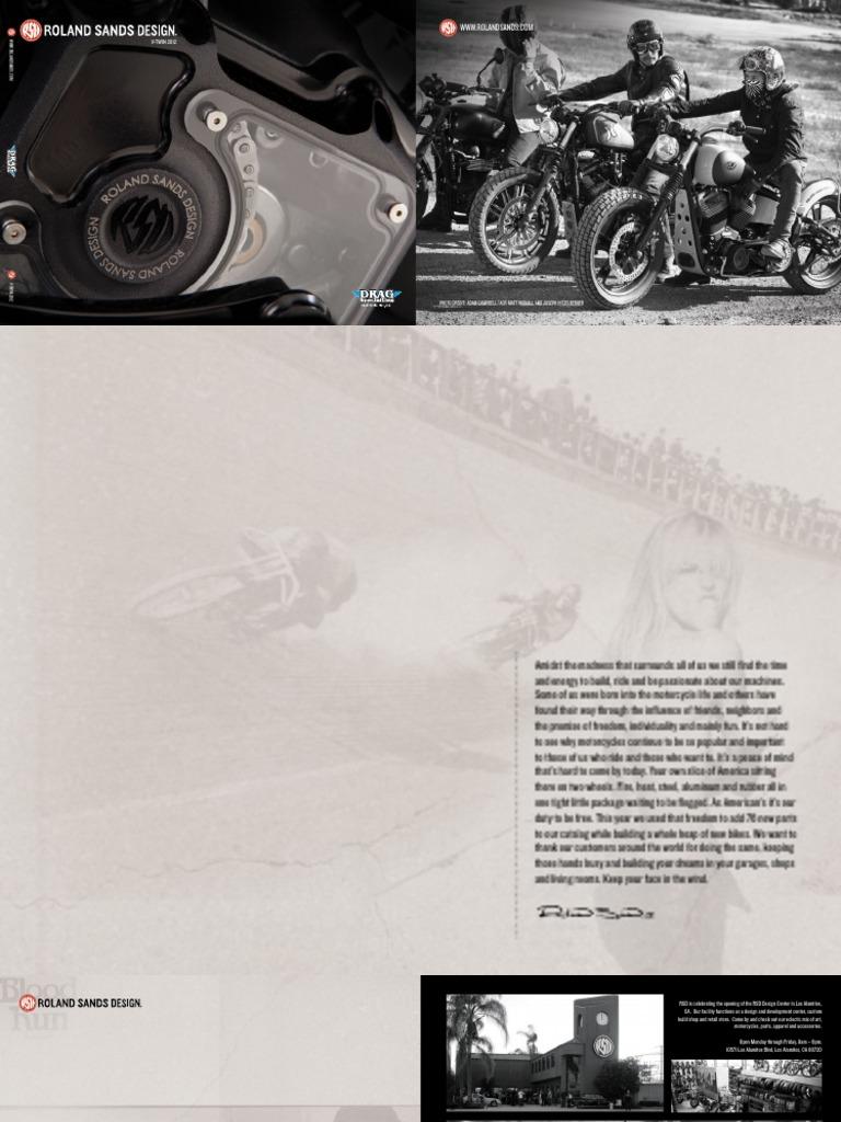 Roland Sands Design 1 Black-OPS 7-1//2 Vintage Short Stack Handlebar 0173-1830-TBP