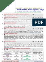 Pasuhe Wonderful Korea Jeju 7h