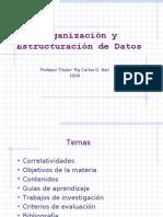 1.0. OED Primera Clase 2009