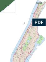 Manhattan - New York Map