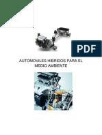 Automoviles Hibridos Para El Medio Ambiente